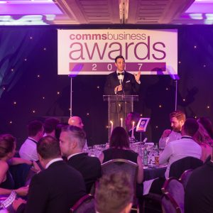 Winner CommsBusiness Awards 2017